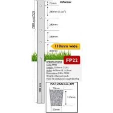 110mm Concrete Fence Posts