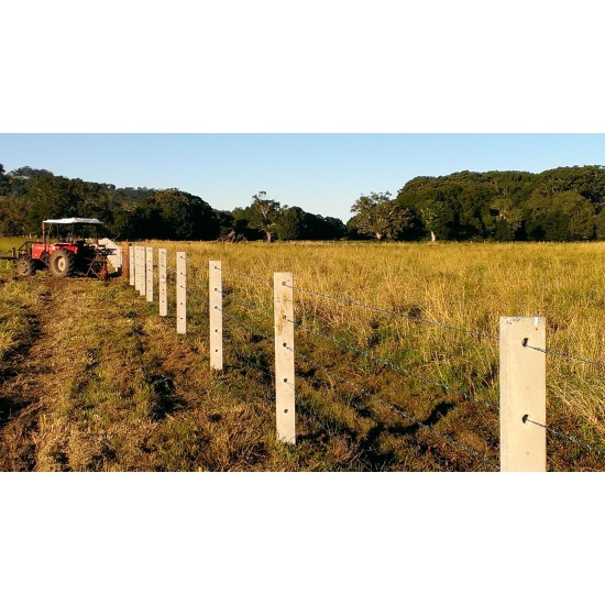 130mm Concrete Fence Post FOR DONATION TO FIRE AFFECTED FARMERS