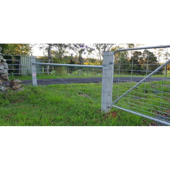 Galvanised Stay Rail for Concrete Posts