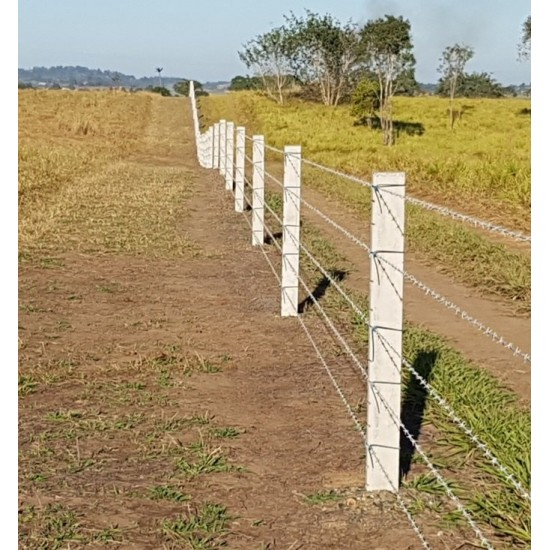110mm Notched Concrete Fence Post