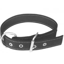 Collar Calf Webbing Black