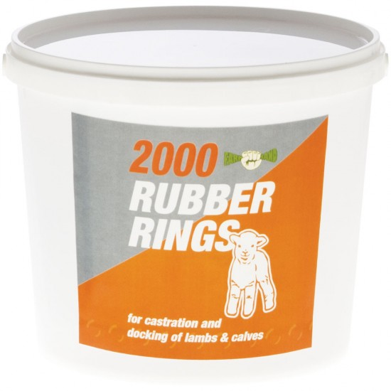 Castration Rings For Lambs, Kids And Calves Various Size Packs