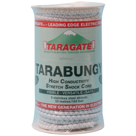 Tarabungy Gate Bungee Cord 50m roll