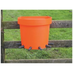 6 place Rail Calf Feeding Bucket