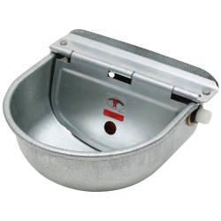 Water Bowl Little Giant Galvanised 4.2L Bowl