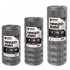 Hinged Joint Heavy Duty Galvanised Wire 200m roll