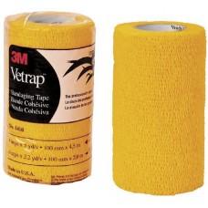 Vetrap Superior Cohesive Elastic Bandage 10cm wide 3M USA Made GOLD