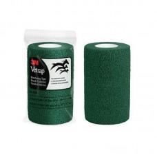 Vetrap Superior Cohesive Elastic Bandage 10cm wide 3M USA Made GREEN