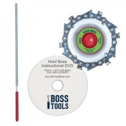 Hoof Cutting Chain Disc For Electric Grinder Herd Boss