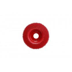 Red Coarse Grit Power Rasp Disc - suits Hoof Boss