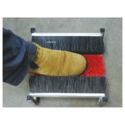 Triple Brush Boot Cleaner