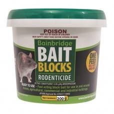 Rodent Bait Blocks Brodifacoum 200g