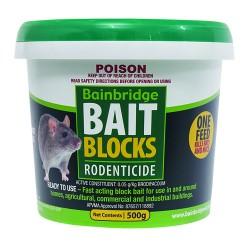 Rodent Bait Blocks Brodifacoum 1kg