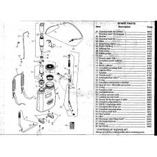 Guarany Knapsack Sprayer 16L / 20L Service Kit