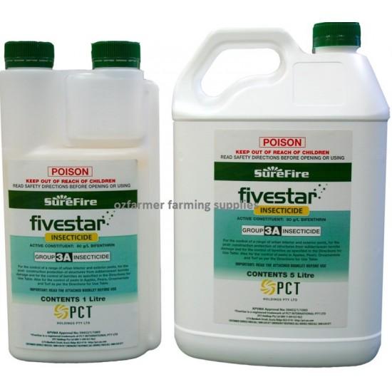 Surefire Fivestar Bifenthrin General  Insecticide Termiticide 1 litre