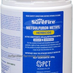 Surefire Metsulfuron Methyl Selective Herbicide Weed Killer 500g