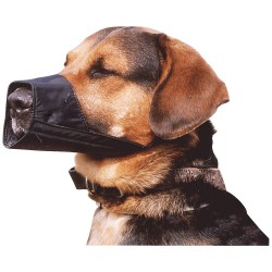 Nylon Dog Muzzle Easy Fit Size 3 and size 7