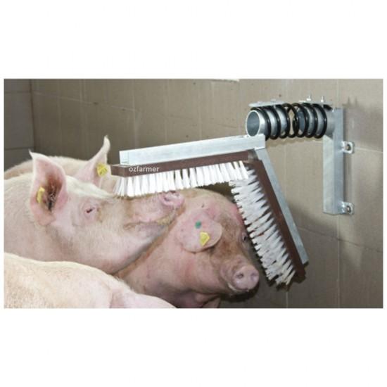 Pig/Calf Scratching Brush