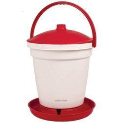 18l Poultry Drinker Bucket Waterer Farming Supplies