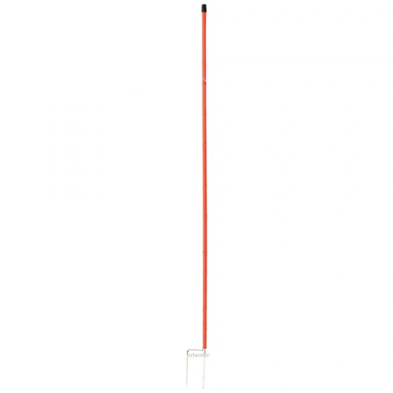 Electrified Poultry Netting Posts Only 112cm orange