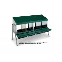 Poultry Nesting Box Metal Rollaway
