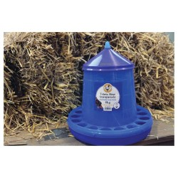 Poultry / Chicken Feeder Transparent Blue 4kg