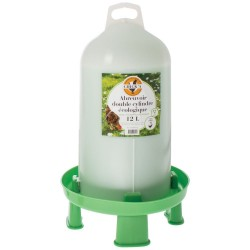 Poultry Drinker with Legs Chick'a Eco-Easy 100% Natural