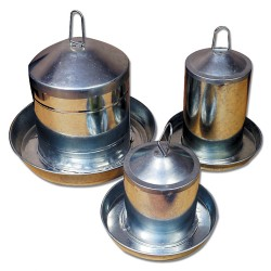 Poultry Drinker Stainless Steel