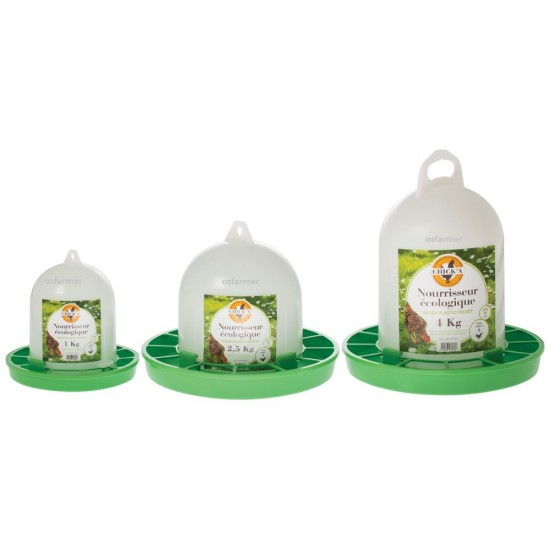 Poultry Feeder Chicka Ecologique Eco Friendly Feeders