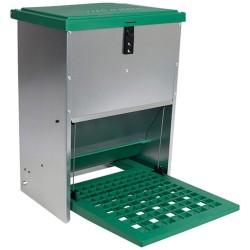 Poultry Feeder Feed-o-matic Treadle Feeder