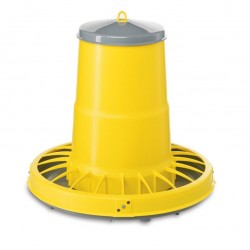 Supreme Poultry Feeder with Cover Anti Waste Design