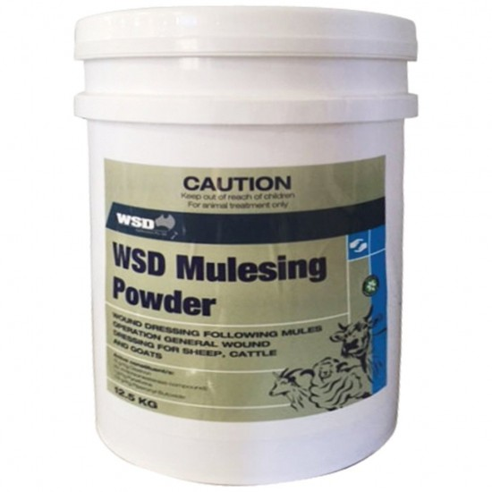 WSD Mulesing Powder 12.5kg