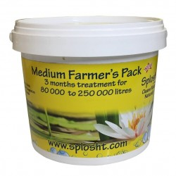 Splosht Medium Farmers Pack Dam Fish Farm Natural Water Cleaner