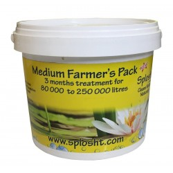 Splosht Medium Farmers Pack Dam Fish Farm Natural Water Cleaner