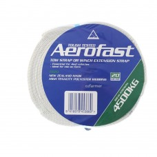 4,500kg break strength  Tow rope recovery strap 50mm x 20m  Aerofast