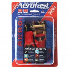 500kg break strength Handyman 25mm x 4m Ratchet Tiedown Aerofast