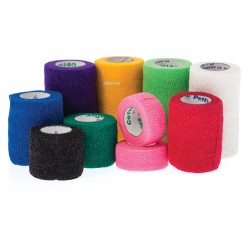 CoFlex Cohesive Elastic Bandage 10cm wide USA Made