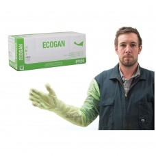 Gloves Exam Ecogan (green) 100-pk