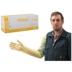 Gloves Exam Progan High Puncture Medium Feel 100pk
