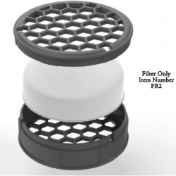 Chefs Design Purifry Filtered Splatter Lid Replacement Filters (2 pack)
