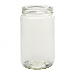 12  x 32oz Quart Straight Sided Jars Bell Mason - Lids not included