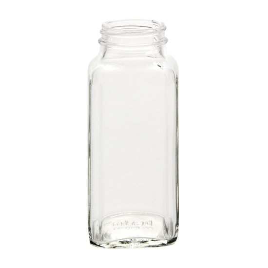 Bell 8oz Dairy French Square Bottles
