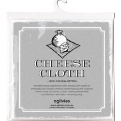 %100 Unbleached Medium Tight Weave Cheesemaking Cheese Cloth
