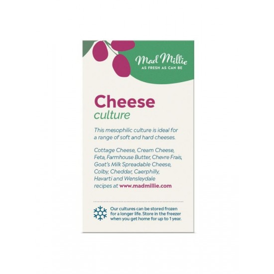 5 x Mesophilic Starter Culture for Hard and Soft Cheese