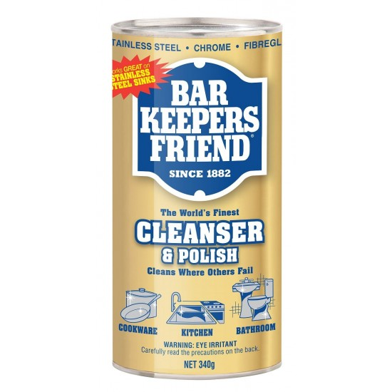 Barkeepers Friend Cleaner and Polish 340g