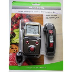 Digital Meat Thermometer and Digital Probe Barbeque and Cooking Set Acurite 3022-1