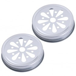 Daisy Lid  Pewter Bulk Case of 950 lids