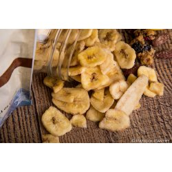 Sweetly Coated Banana Chips Up to 25 Year Shelf Life Emergency Food