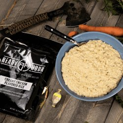 Blue Ribbon Creamy Chicken Rice Up to 25 Year Shelf Life Emergency Food