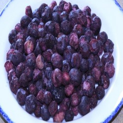 Freeze-Dried Blueberries Up to 25 Year Shelf Life Emergency Food